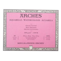 Arches Artist Watercolour Paper Blocks (HOT PRESSED)