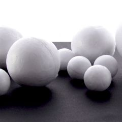 50mm & 25mm Polystyrene Balls. Mixed Pack of 40 (20 of each size)