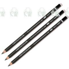 Cretacolor Artists Charcoal Pencils Set of 3
