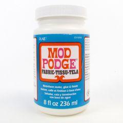 Mod Podge Decoupage Glue & Finish Fabric 8oz 236ml
