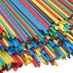 Long Art Straws Coloured Pack of 100
