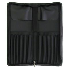 Artists Long Brush Faux Leather Deluxe Storage Case