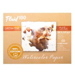 Fluid 100™ 640gsm Watercolour Paper Blocks