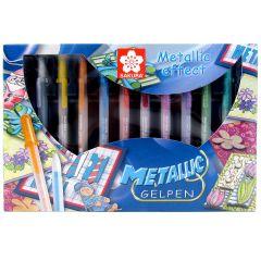 Sakura Gelly Roll Metallic Gel Pen 10 Pen Box Set
