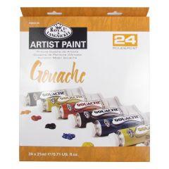 Royal Langnickel Artist Gouache 24 x 21ml Paint Tube Box Set