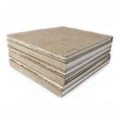 Khadi Paper Hard Back Book Smooth Surface 28x35cm