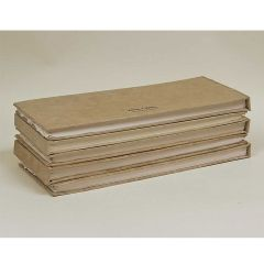 Khadi Paper Hard Back Long Book Smooth Surface 13x32cm