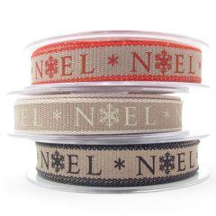 Berisfords Rustic Style Christmas Ribbon 15mm