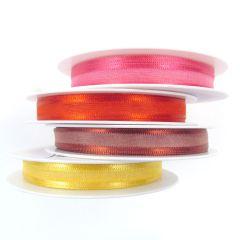 10mm Satin Edged Organza Ribbon
