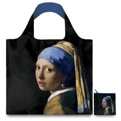 LOQI Museum Collection Tote Bag 'Girl with a Pearl Earring'