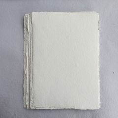 Khadi White Cotton Paper Pack 640gsm A4 50 Sheets