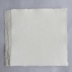 Khadi White Cotton Paper Pack 320gsm 30cm Square 100 Sheets