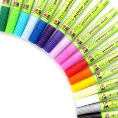 Marabu Deco Painter Paint Pens 2-4mm