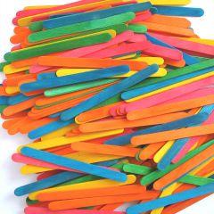 1000 Coloured Lolly Sticks