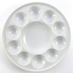 Artists Large Round Porcelain palette 11 wells