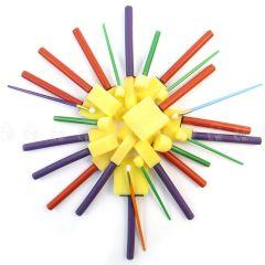 Royal & Langnickel 25 Sponge Brushes Spouncers Dabbers