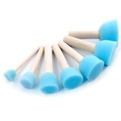 Royal & Langnickel Sponge Stippler 7 piece Set. Art,Craft Stencil Sponge Brushes