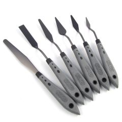 RGM Pro Grip Painting Palette Knife Set of 6