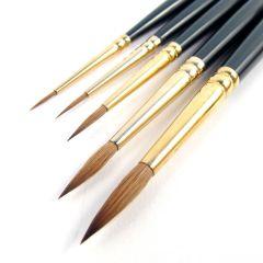 Pro Arte Artists Renaissance Pure Sable 5 Brush Set A