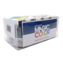 Magic Color Artist Acrylic Ink Starter Box Set of 8 Colours.