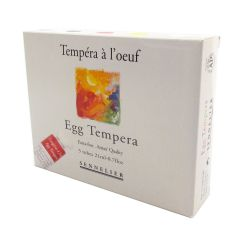 Sennelier Artists Egg Tempera Starter Set 5 x 21ml Tubes