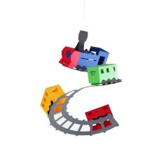 Sisters Factory Paper Mobile Kits Train