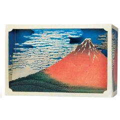Tatebanko Japanese Paper Diorama Kit MOUNT FUJI