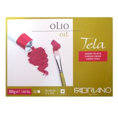 Fabriano Tela Artists Oil Paper Blocks