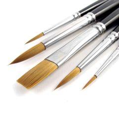 Pro Arte Artists Prolene 5 Brush Wallet Set W3