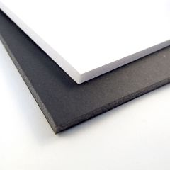 Westfoam A4 Foam Board 5mm Black Pack of 20 Sheets