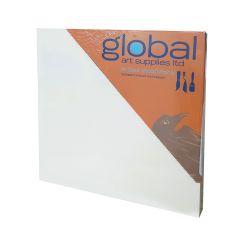 """Global Artists Wooden Panel Natural Unprimed 18mm Deep 6"""" x 6"""""""