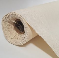 "Fredrix Unprimed Cotton Canvas Roll 6YD 53"" 7oz"