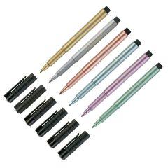 Faber Castell Pitt Artists Metallic Pens 1.5mm