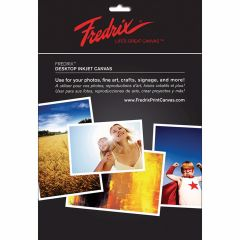 Fredrix Inkjet Canvas A4 (10 Sheet Pack)