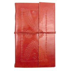 Embossed Leather Sketchbook (XL 135x215x55mm)