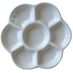 Artists Porcelain Daisy Palette 152mm