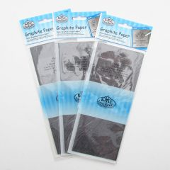 """3 X Royal Artists Transfer Paper 18""""x36"""" Sheets. Graphite Grey (Trace Down)"""