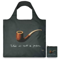 LOQI Museum Collection Tote Bag 'The Treachery of Images'