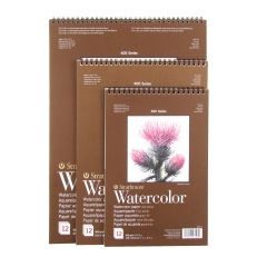 Strathmore Series 400 Watercolour Pads Spiral Bound 300gsm/140lbs