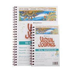 Strathmore Watercolour Visual Journals 190gsm/90lbs