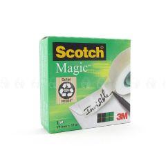 Scotch Magic Invisible Tape 19mm x 33m