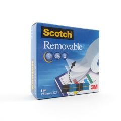 Scotch Removable Magic Tape 19mm x 33m