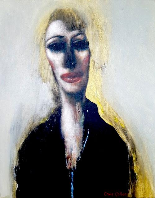 Portrait of a Woman by Chris Gollon