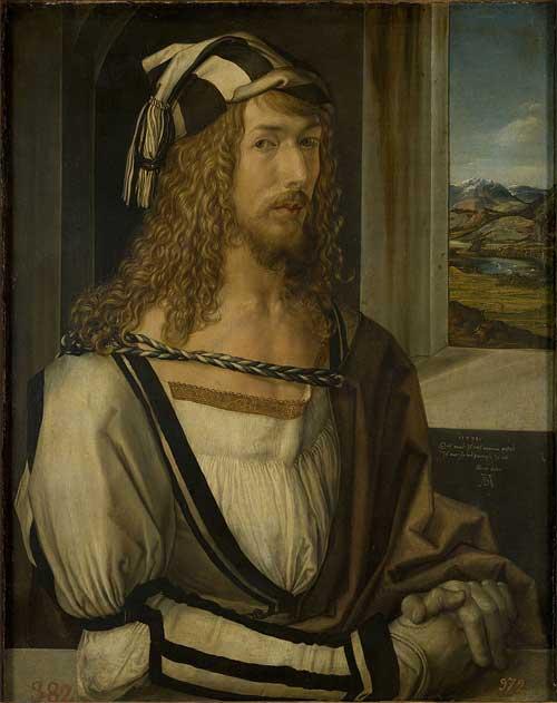 Self Portrait Aged 26 by Albrecht Durer
