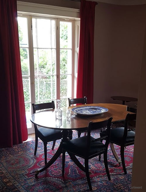 The Dining Room at Sandycombe Lodge