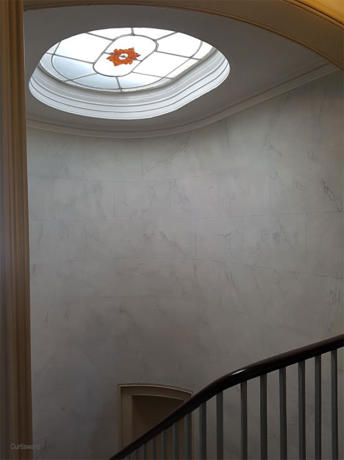 The restored Skylight at Sandycombe Lodge