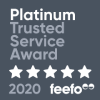 Feefo Trusted Merchant 2020