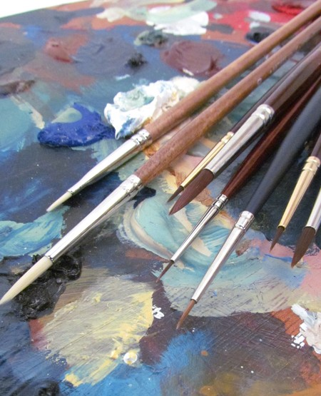How To Choose An Oil Painting Brush