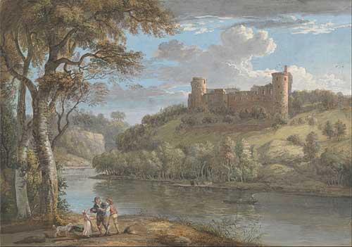Bothwell Castle by Paul Sandby